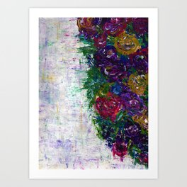 Botanical - Flowers Art Print