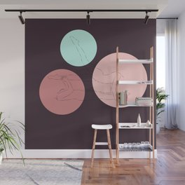Hesitation Wall Mural