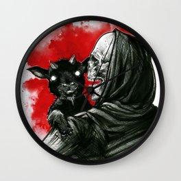 Mama´s little devil Wall Clock