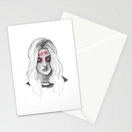 Kill Me B/W Stationery Cards