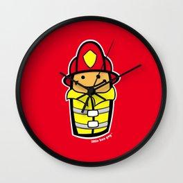 LBG Fireman. Wall Clock