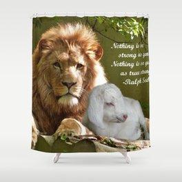 Gentle Strength Shower Curtain