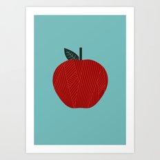 Apple 10 Art Print