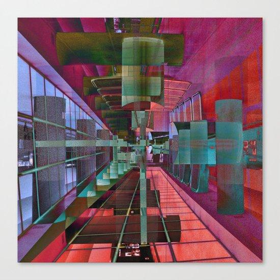 MAGIC CITY LINES Canvas Print