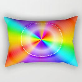 WeAreOneLove Rectangular Pillow