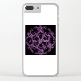 Water Turns Amethyst Clear iPhone Case