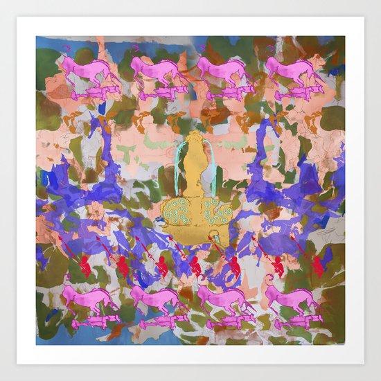 Unicorn Found a la Mela Art Print