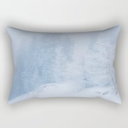 Frozen trees Rectangular Pillow