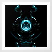 tron Art Prints featuring Tron  by Electra