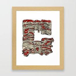 Meaty G Framed Art Print