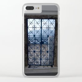 Doors to a new horizon Clear iPhone Case