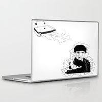 merlin Laptop & iPad Skins featuring Print Merlin by MeMRB