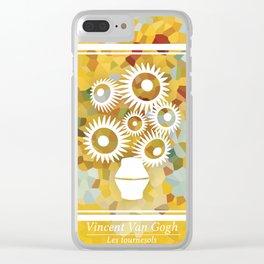 Les tournesols Clear iPhone Case