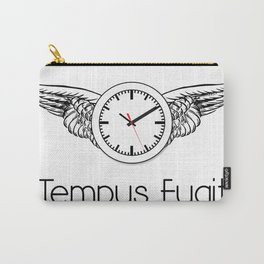 Tempus Fugit Carry-All Pouch
