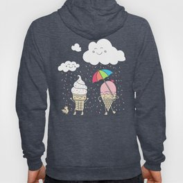 Cloudy With A Chance of Sprinkles Hoody