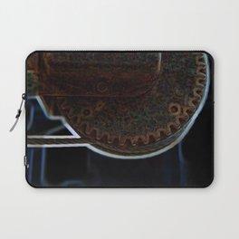 Circular Corrosion Laptop Sleeve
