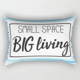 Small Space Big Living Rectangular Pillow