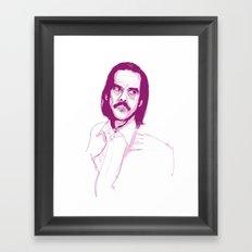 Nick Cave Framed Art Print