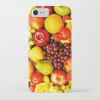 fruits iPhone & iPod Cases featuring FRUITS by Ylenia Pizzetti