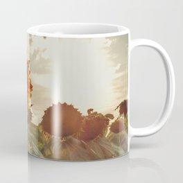 Golden Sunflower Sunsets Coffee Mug