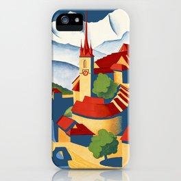 Vintage Bern Switzerland Travel iPhone Case