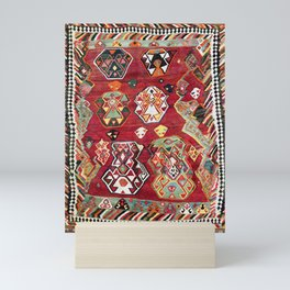 Luri Fars Southwest Persian Kilim Print Mini Art Print