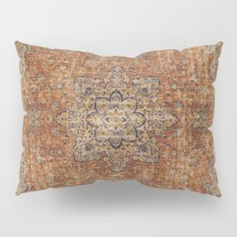 Antique Persian Rug Pillow Sham