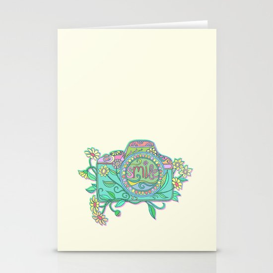 Smile for the Camera Stationery Cards