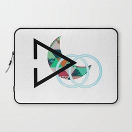 Over The Hills Geometric Design Laptop Sleeve