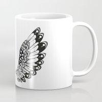 wings Mugs featuring wings by Li-Bro