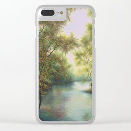 Colors of Spring Clear iPhone Case