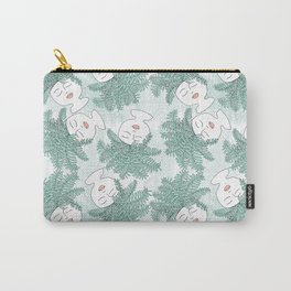Fern-tastic Girls in Sage Green Carry-All Pouch