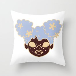 starry girls Throw Pillow