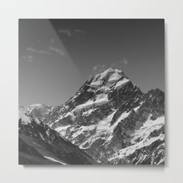Mount Aoraki (Mount Cook) Metal Print