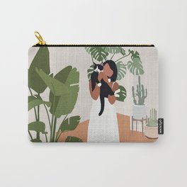 Plant lady and her cat Carry-All Pouch
