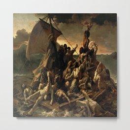 Jean Louis Theodore Gericault's The Raft of the Medusa Metal Print