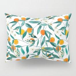 Orange Summer Pillow Sham