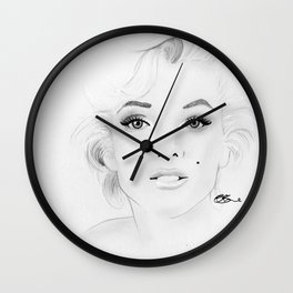 Marilyn Monroe Wall Clock