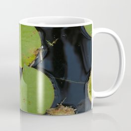 Lillypads in the pond Coffee Mug
