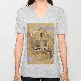 Little House on the Prairie – Country Girls  Unisex V-Neck
