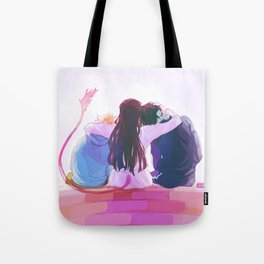 hiyori and her boys Tote Bag