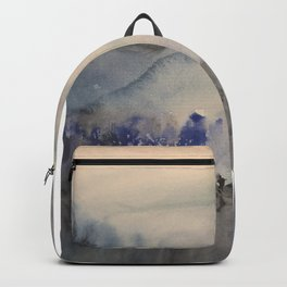 Mountain of trees Backpack