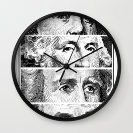 All presidents worth more dead .. than alive  Wall Clock