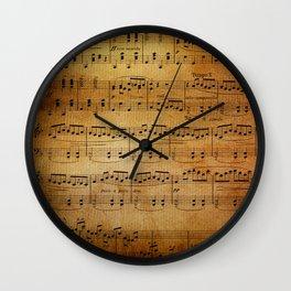 Yesterday's Music Wall Clock