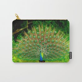 Srilankan Peacock Carry-All Pouch