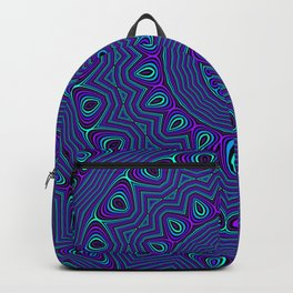 Trippy Kaleidoscope Backpack