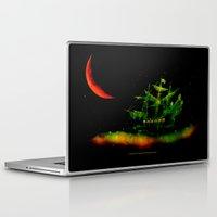 hook Laptop & iPad Skins featuring HOOK 024 by Lazy Bones Studios