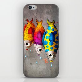 Fish Sale iPhone Skin