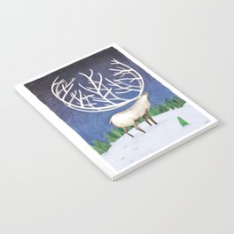 Peaceful Reindeer Notebook