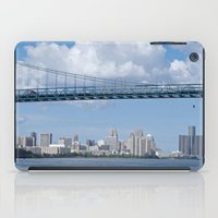 detroit iPad Cases featuring Nearing Detroit by Ann Horn